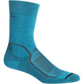Icebreaker Hike+ Medium Crew Socks Dam Arctic Teal